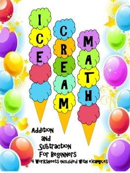 Ice Cream Math Addition and Subtraction