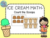 Ice Cream Math-Count the Scoops