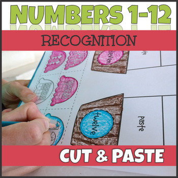 Counting up to 12 - Number Recognition