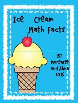 Ice Cream Math Facts