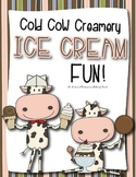 Ice Cream Math, Literacy and Art Fun!