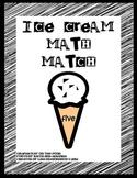 Ice Cream Math Match