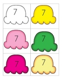 Ice Cream Math-Scooping Up 10