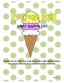 Ice Cream Math Sort - Simple Addition