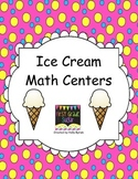 Ice Cream Math Workstations