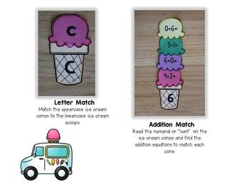 Math and Literacy Activities for Kindergarten