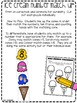 Ice Cream Math and Literacy Centers for Preschool, Pre-K, and Kindergarten