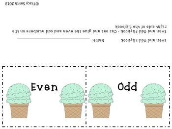 Ice Cream Math and Literacy - Common Core Aligned K-2