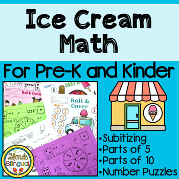 Ice Cream Math for Pre-K and Kinder