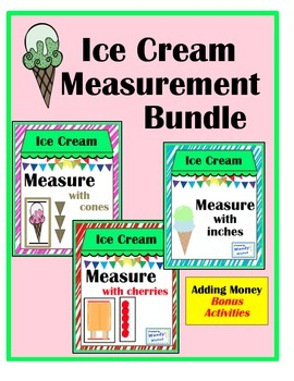Ice Cream Measurement Summer Bundle with Bonus Adding Mone