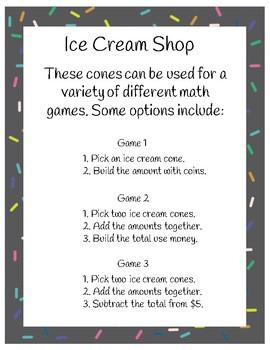 Ice Cream Money Center