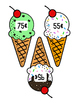 Ice Cream Money Matching Game {FREEBIE!}