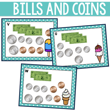 Money Counting: Dollars and Coins Scoot