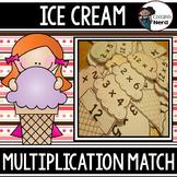Ice Cream Mulitplication Match