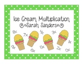 Ice Cream Multiplication Bulletin Board