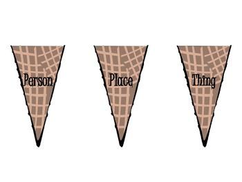 Ice Cream Nouns