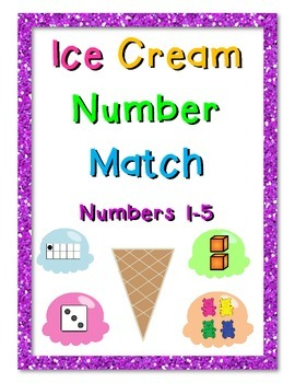 Ice Cream Number Match (1-5)