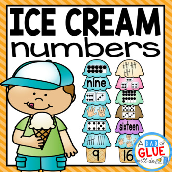 Ice Cream Number Match-Up