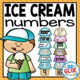 Ice Cream Number Match-Up