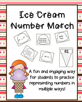 Ice Cream Number Matching