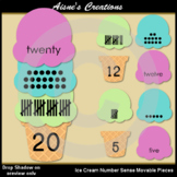 Ice Cream Number Sense Movable Pieces