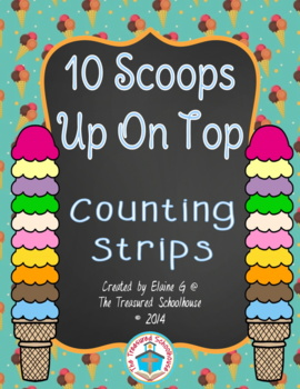 Ice Cream Numbers 1-20 Counting Activities