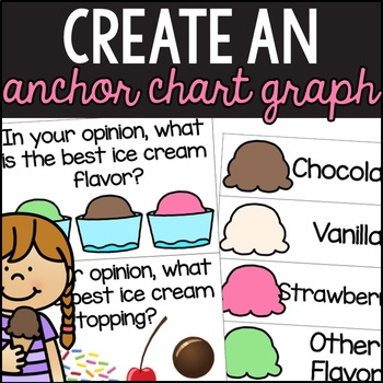 Ice Cream Opinion Writing & Graphing Activities