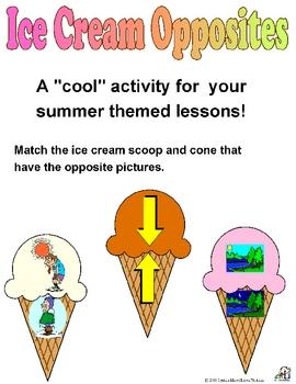 Ice Cream Opposites