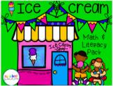 Ice Cream Pack Math and Literacy Activities!