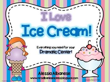 Ice Cream Parlor Dramatic Play Center