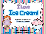 Ice Cream Parlor Dramatic Play Center