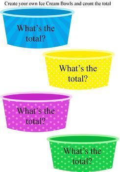 Ice Cream Party Money Game