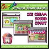 Ice Cream Phoneme Sound Count Interactive ELA Digital Goog