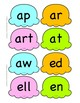 Ice Cream Phonics-Word Families, Blends, Digraphs