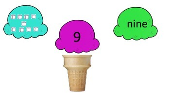 Ice Cream Place Value Sort 1-10