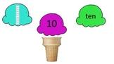 Ice Cream Place Value Sort 1-10