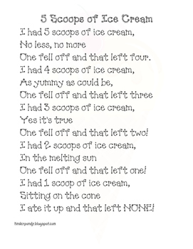 Ice Cream Poem