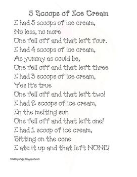 Ice Cream Poem