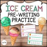 Ice Cream Pre-Writing Practice