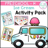 Ice Cream Preschool Pack