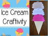 Ice Cream Reading {Craftivity}