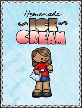 Ice Cream Recipe with Visual and File Folder Match