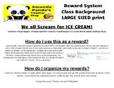Ice Cream Reward - Bulletin Board Set / VIPKID, GogoKid, Online