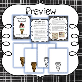 Ice Cream Reward for Online ESL classroom, Young Students, and Special Ed!