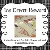 Ice Cream Reward for Online ESL classroom, Young Students,