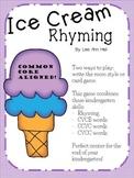 Ice Cream Rhymes - A Kindergarten Review Center