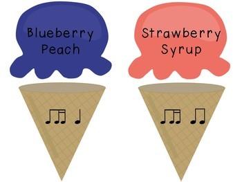 Ice Cream Rhythm Match, Bundled Set