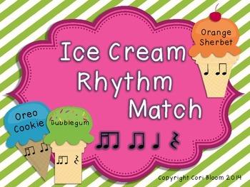 Ice Cream Rhythm Match, Tika-Ti