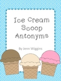 Ice Cream Scoop Antonyms