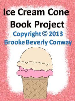 Ice Cream Scoop Book Project